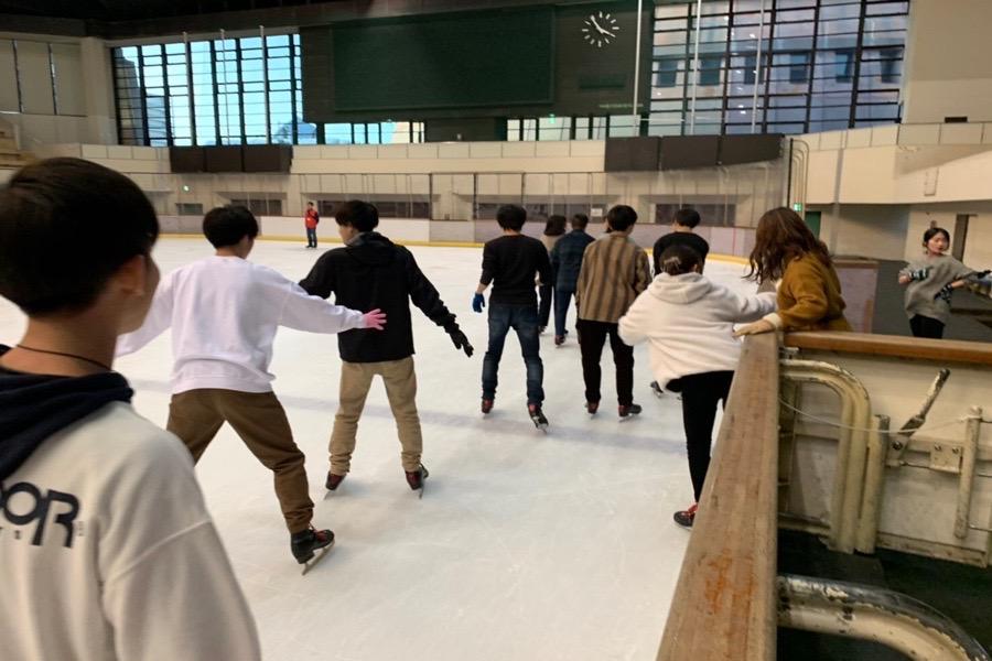 スケート&タピオカパーティー